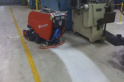 The correct way to clean concrete we do concrete cheap for Concrete floor degreaser
