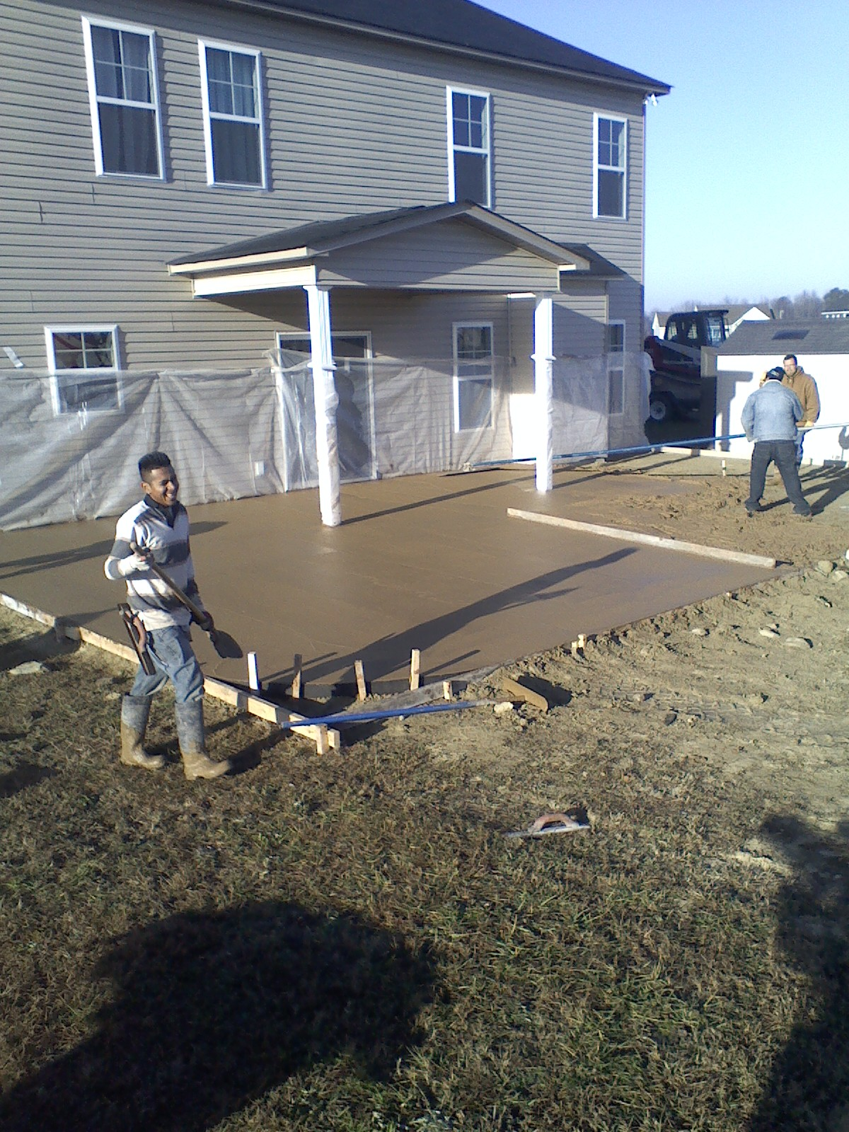 Concrete Contractor in Raleigh NC