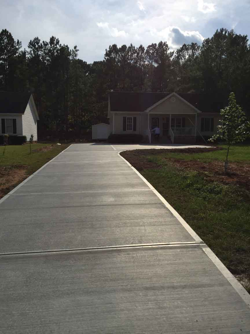 Driveway Gallery We Do Concrete Cheap Raleigh Nc
