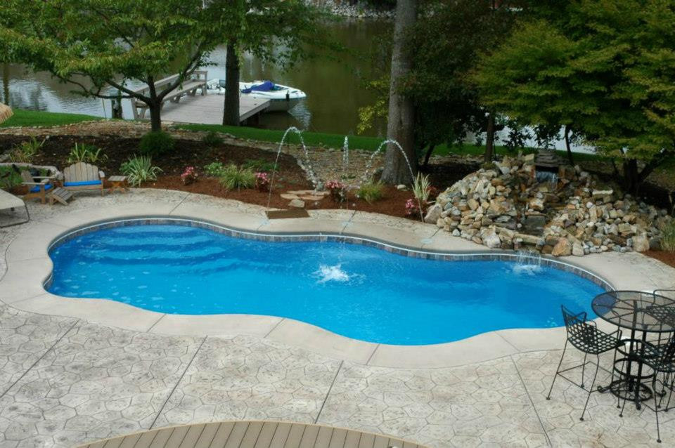 Concrete contractors raleigh nc we do concrete cheap - Glamorous swimming pool with affordable budget ...